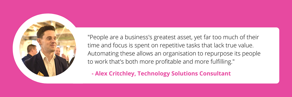 Alex Critchley - automation quote-2